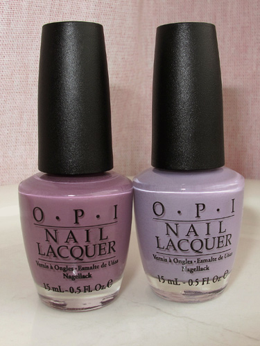 O.P.I. Parlez-Vous OPI? & Done Out In Deco