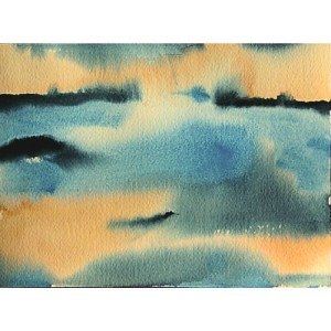 dawn of creation watercolor Dreamon