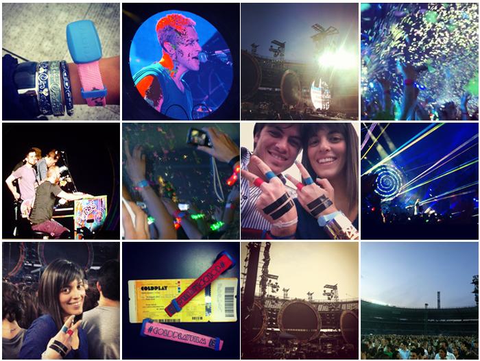 Coldplay, Torino 24/05/2012