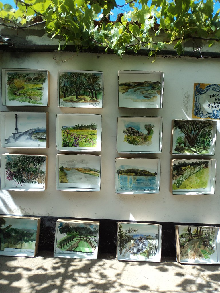 First watercolour exhibition