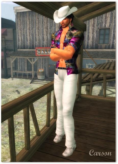 Ydea - Manaus Outfit, Duh! - Men's White Cowboy Boots