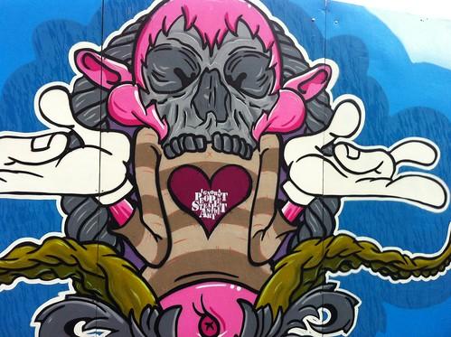 Ignorant People Steal Street Art