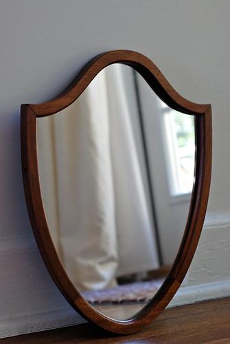 teot etsy shop shield mirror
