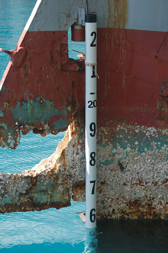 stern pole in place