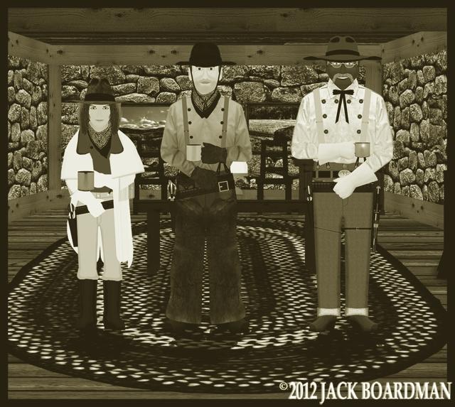 The Coopers met with Big Mac ©2012 Jack Boardman