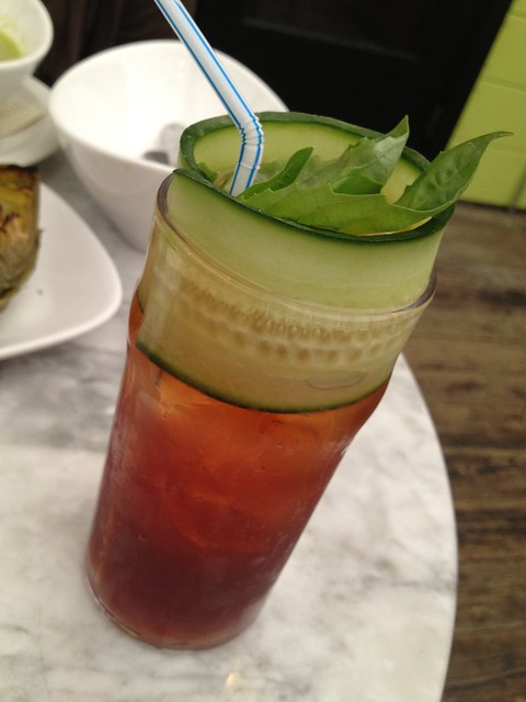 Housemade Pimm's Cup - Starbelly