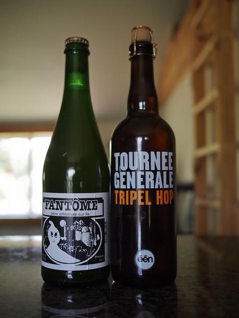 Fantôme Saison and Tournée Générale Tripel Hop