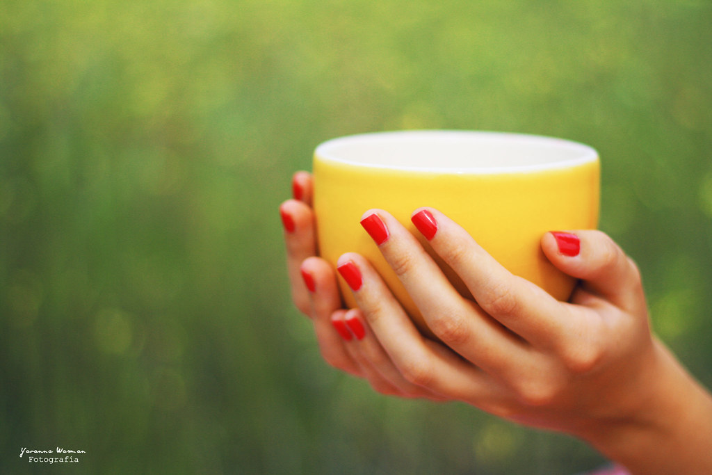 Una taza de café...