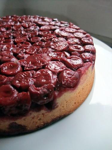 Cherries Almond Cake (2)