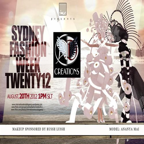 SFW Flyer AD 2 by Ananya Mai SYDNEY FASHION WEEK twenty12 17 - 22 Au