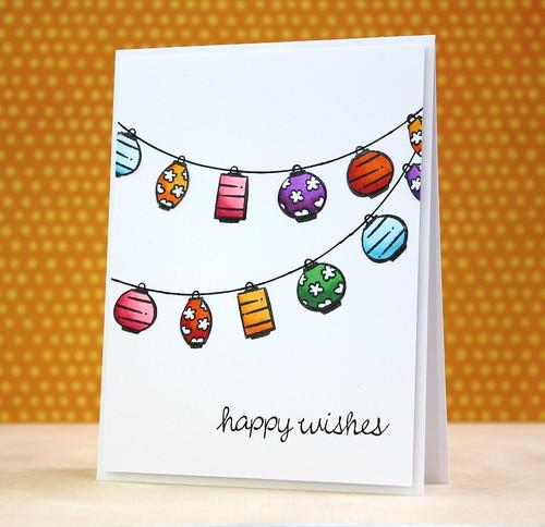 happy wishes by L. Bassen