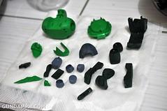 1-100 Kshatriya Neograde Version Colored Cast Resin Kit Straight Build Review (33)