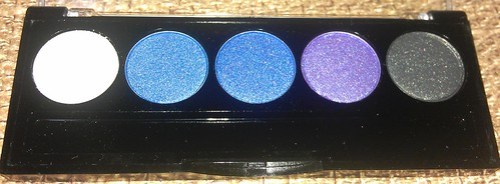 L.A. Colors 5 Metallic Eyeshadow Devious