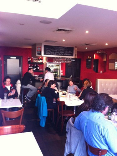 bar area - thyme square, hornsby