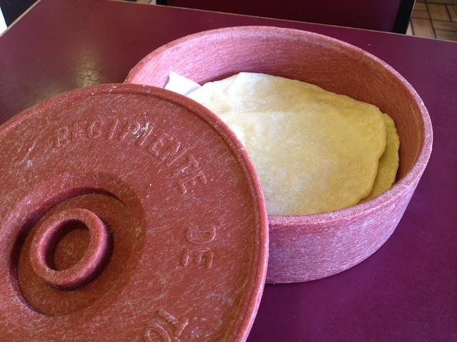 Corn tortillas - Chava's Restaurant