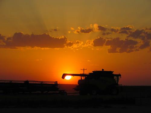Combine past sunset