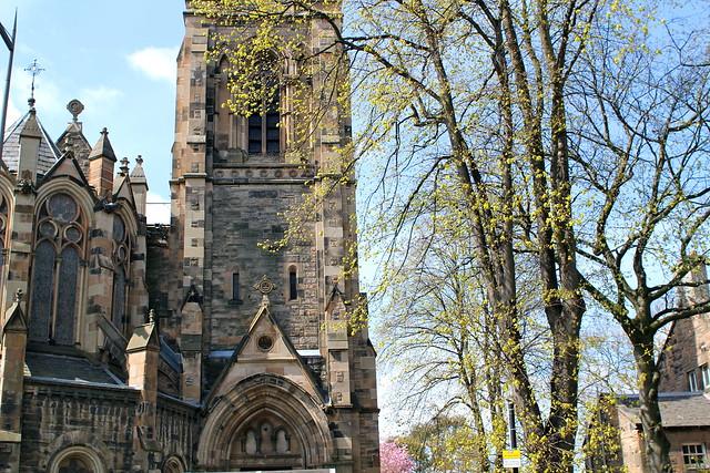 In Edinburgh this is just a regular church
