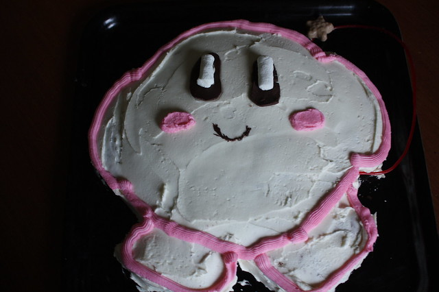 Kirby's Epic Birthday Cake