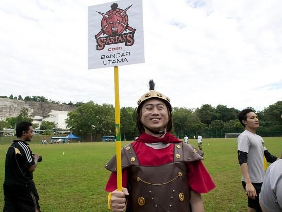 BU Spartan Mascot!