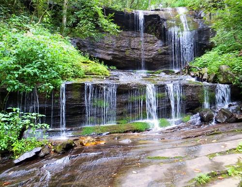 Grassy Creek Falls by waterfallshiker