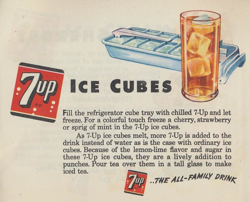7up Ice Cubes