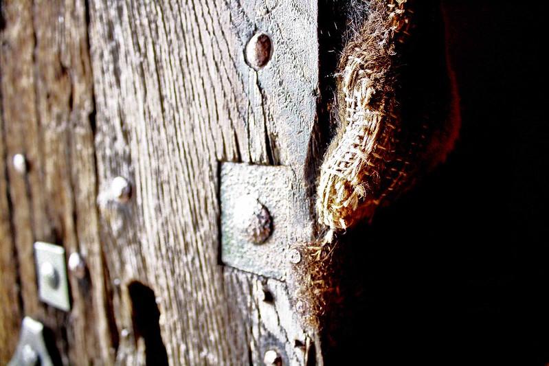 Door detail, Leper chapel