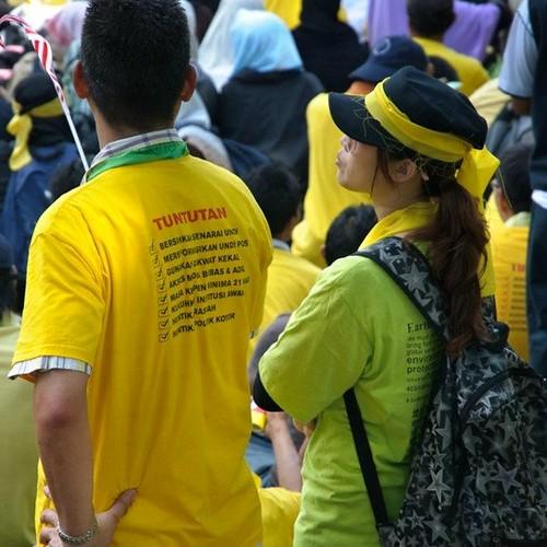 Bersih 3.0 Kota Kinabalu perfect couple.