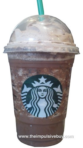 Review Starbucks Mocha Cookie Crumble Frappuccino The