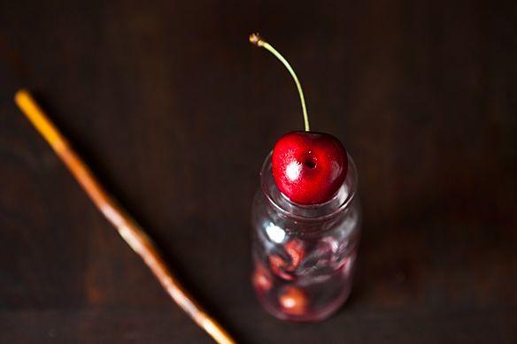 Pitting Cherries 4