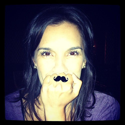Do you like my mustache?