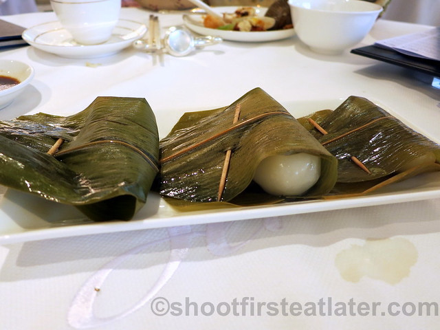 glutinous dumplings stuffed with candied fruits, coconut & nuts HK$26