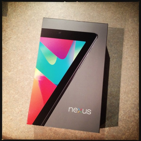Finally arrived #nexus7