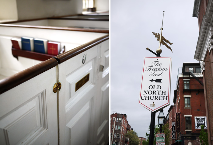 Old North Church Freedom Trail Boston 1