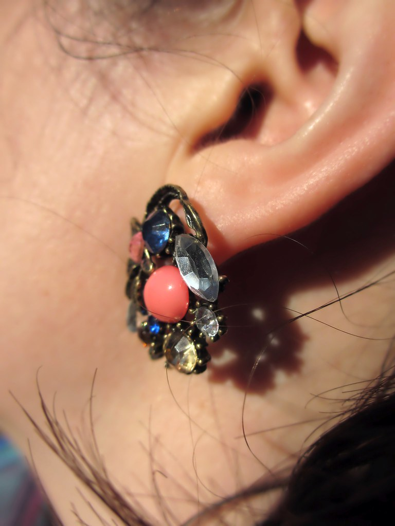 Heirloom-inous Earrings from ModCloth. Photo by Pat Zimmerman.