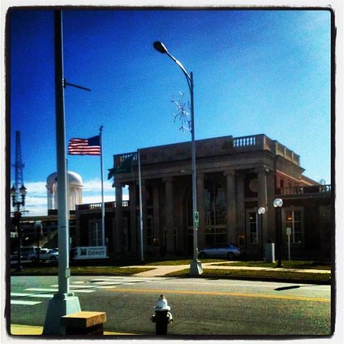 Amtrak - Greensboro Gaylon Transportation Center Station (GRO) by Greensboro NC