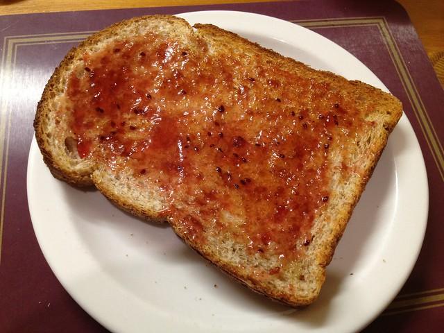 Batch bread toast - The Abbott Lodge