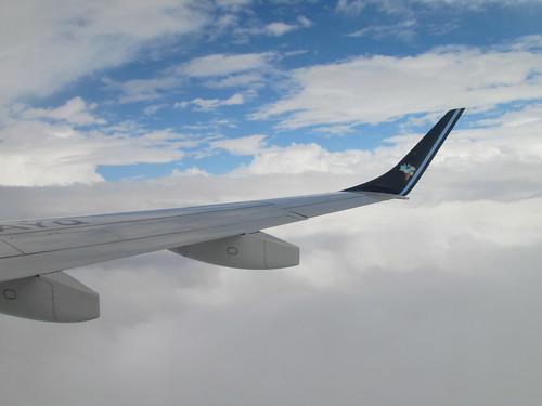 Subindo para nosso nível de cruzeiro, 37.000 pés.