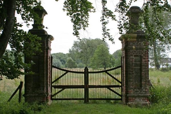 Gate to Kasteel Genhoes, Valkenburg/NL