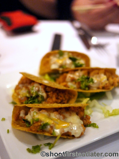 mini tacos served two ways P320