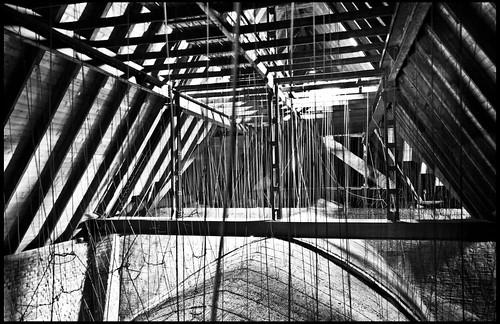 Dachstuhl der Petrikirche