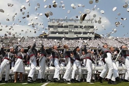 West Point Hat Toss