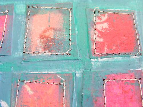 Blog - Sewn squares 8