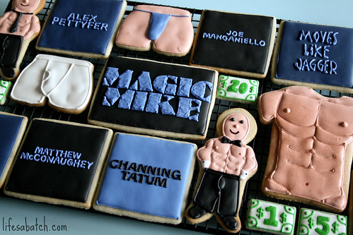 Magic Mike Cookies.