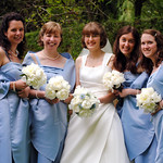 Bride and bridesmaids 3