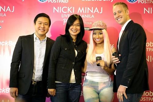Nicki Minaj Press Con