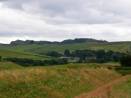 Thirlwall Castle and the Whin Sill