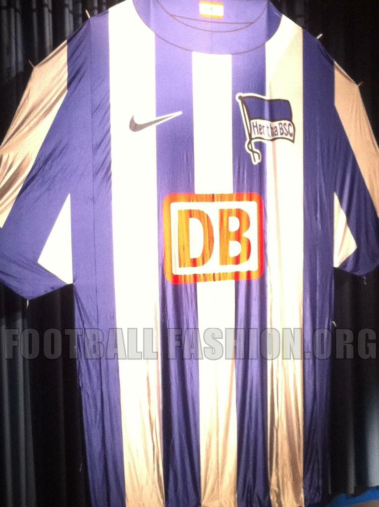 hertha berlin nike 2012 13 home kit football fashion org. Black Bedroom Furniture Sets. Home Design Ideas