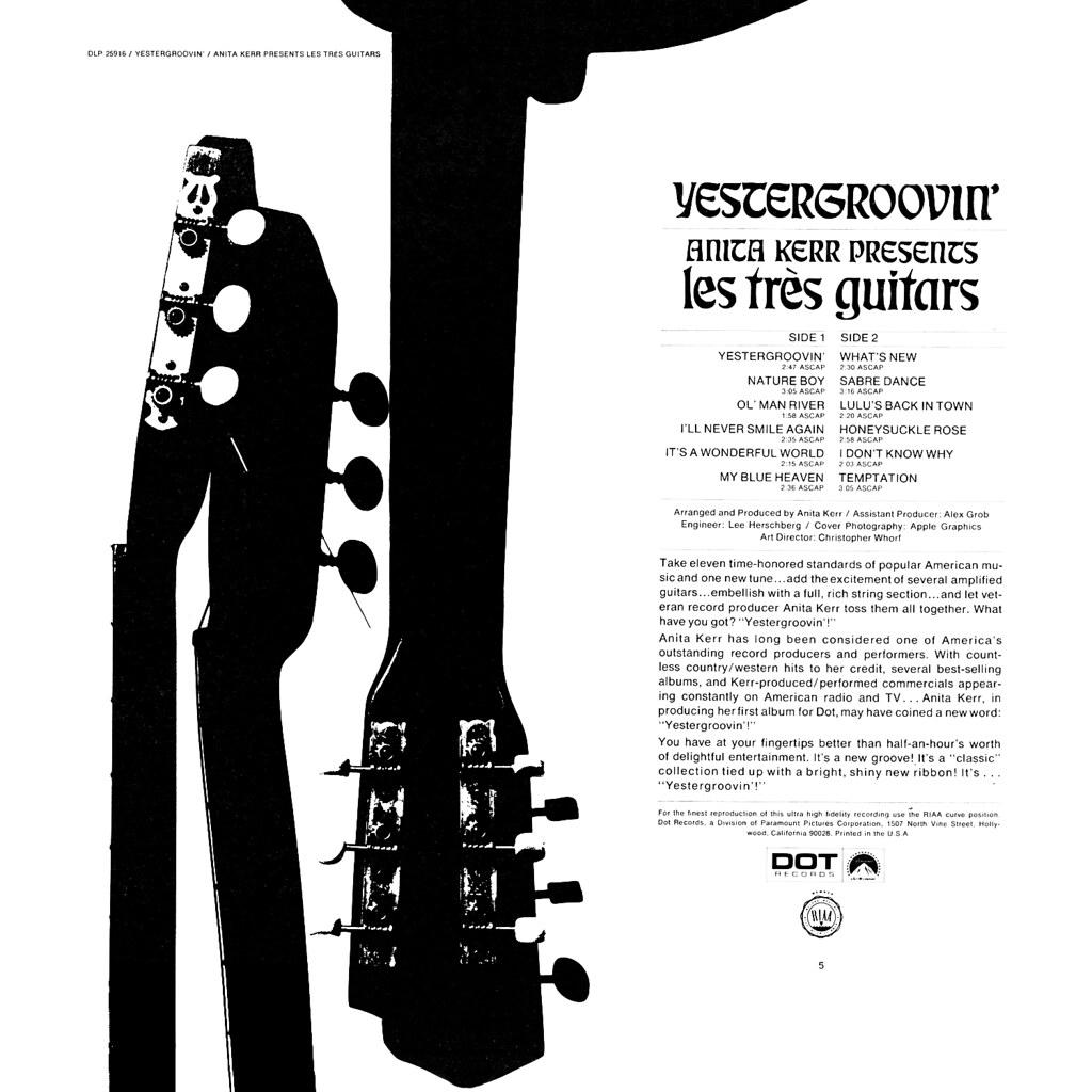 Les Très Guitars - Yestergroovin