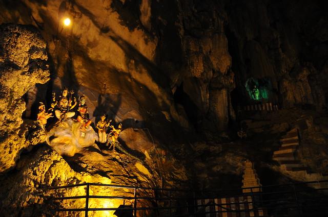 Cueva iluminada