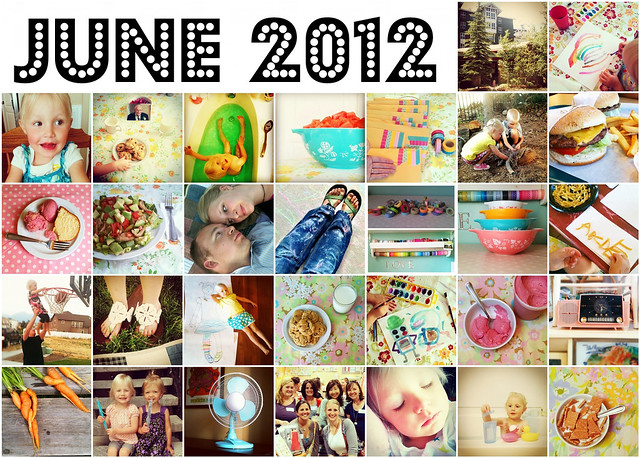 June Instagram Mosaic